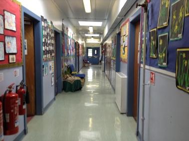 The admin corridor